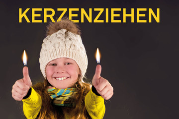 Kerzenziehen im Freizythuus Münsingen