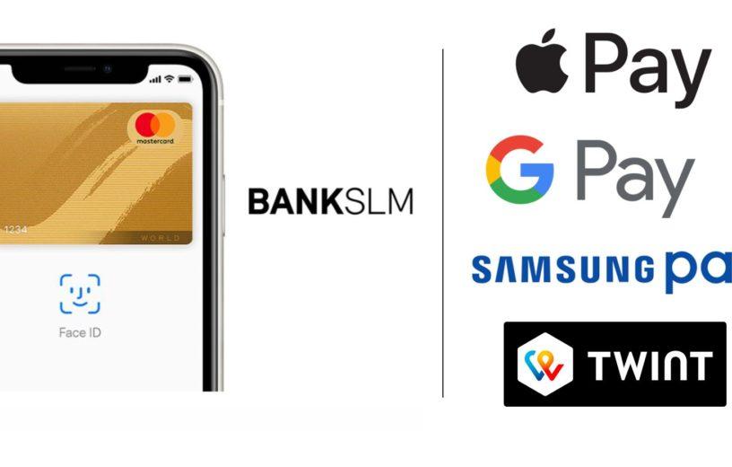Apple-, Google-, Samsung Pay & Twint